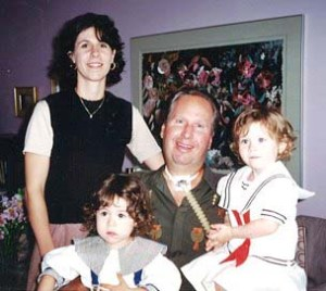 Sarah, Robb and their twin girls