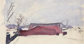 owen-merton_snow-scene-long-island_1919