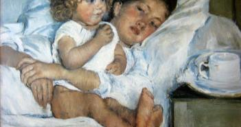 Mary-Cassatt_Breakfast-in-Bed_1897