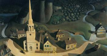 grant-wood_midnight-ride-paul-revere