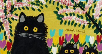maud-lewis_three-black-cats