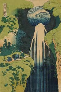 hokusai__amida-waterfall