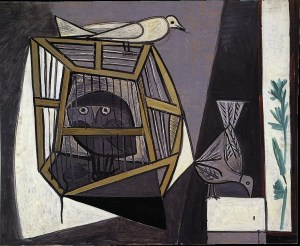 pablo-picasso_cage-with-owl_1947