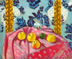 matisse_still-life-with-apples-on-pink-tablecloth