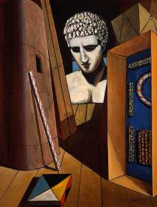 Giorgio-de-Chirico_Mercurys-Meditation_c.1973