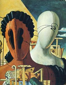 giorgio-de-chirico_the-two-masks-1926