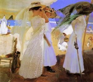 Joaquin-Sorolla_Beneath-the-Canopy_1910