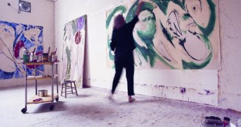 lee-krasner_in-her-studio