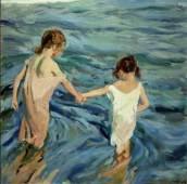 sorolla_girls-in-the-sea