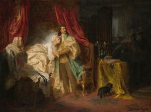 Gyula Benczur_The-capture-of-Ferenc-Rakoczi-II-at-Nagysaros