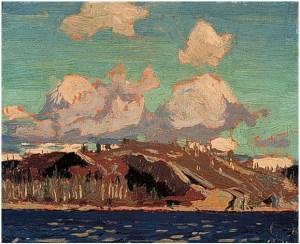 tom-thomson_Rocky-Shore _1916