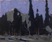 tom-thomson_nocturne-forest-spires_1916