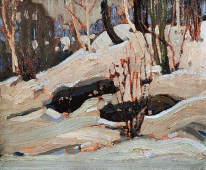Tom-Thomson_Thaw-Snow-Banks_1917