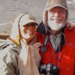Sara and Robert Genn in the Bugaboos, 2013