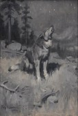 philip-goodwin_howing-wolf