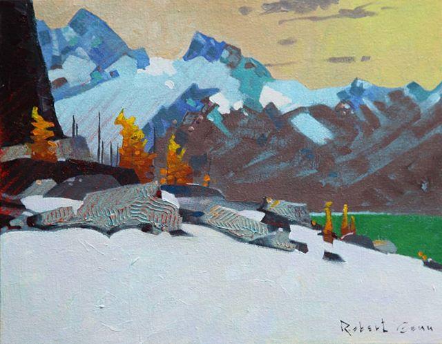 An-Aspect-Above-Lake-McArthur-2014-11-x-14-inches-acrylic-on-canvas
