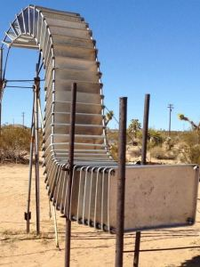 65 Aluminum Trays, 2002 by Noah Purifoy