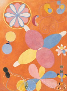 The Ten Largest, No. 4, Youth (1907) guoache on paper by Hilma af Klint (1862-1944)