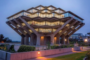 Geisel Library, University of California San Diego, 1970 designed by William Pereira