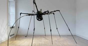 Spider, 1994 Bronze, silver nitrate and brown patina, and granite 274.3 x 457.2 x 378.5 cm by Louise Bourgeois (1911–2010)