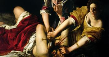 Judith Slaying Holofernes, c. 1612-1613 Oil on canvas 158.8 cm × 125.5 cm by Artemisia Gentileschi (1593 - c.1656)