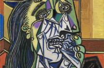 Weeping Woman, 1937  Oil on canvas 60 x 50 cm by Pablo Picasso (1881-1973)