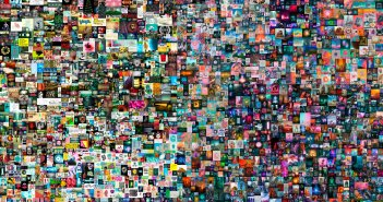 Everydays — The First 5000 Days,  a collage of all the images that Beeple has been posting online each day since 2007 token ID: 40913 wallet address: 0xc6b0562605D35eE710138402B878ffe6F2E23807 smart contract address: 0x2a46f2ffd99e19a89476e2f62270e0a35bbf0756 non-fungible token (jpg) 21,069 x 21,069 pixels (319,168,313 bytes) Minted on 16 February 2021. This work is unique. by Beeple (b.1981)
