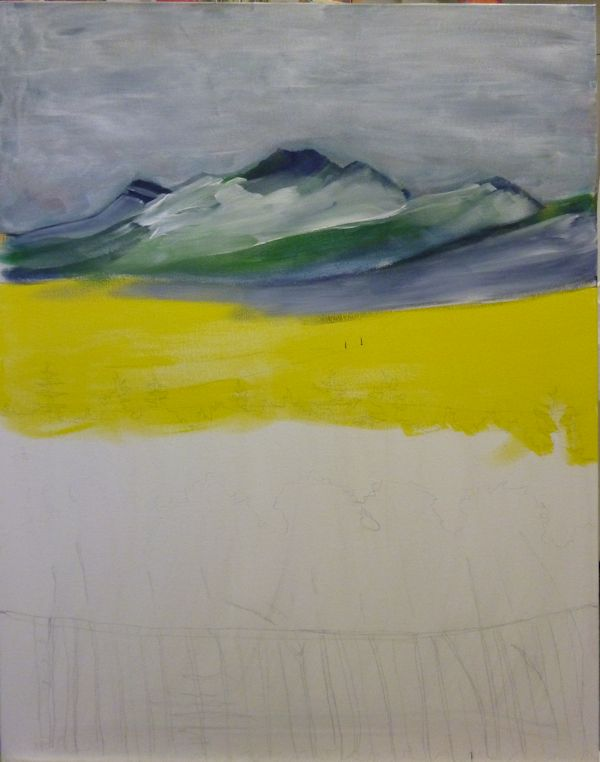 I add a bit more definition on the mountains.
