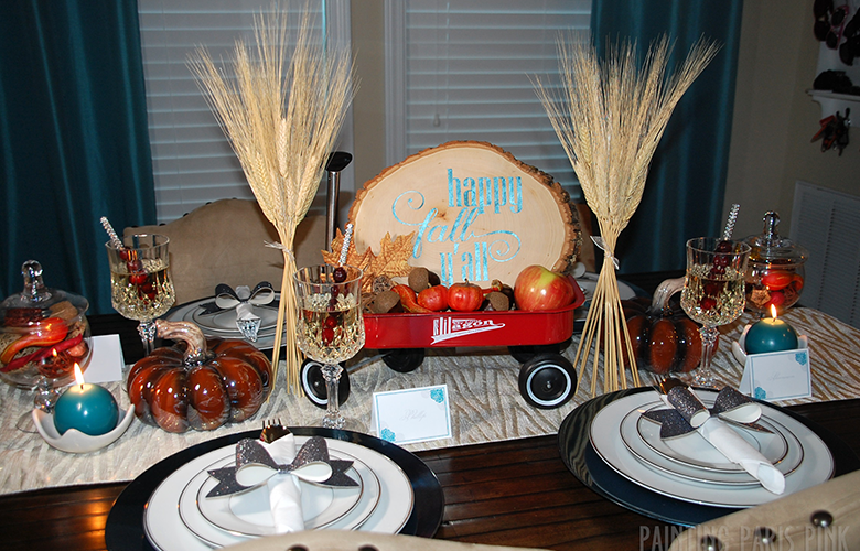Fall Tablescape Challenge – Happy Fall Y'all