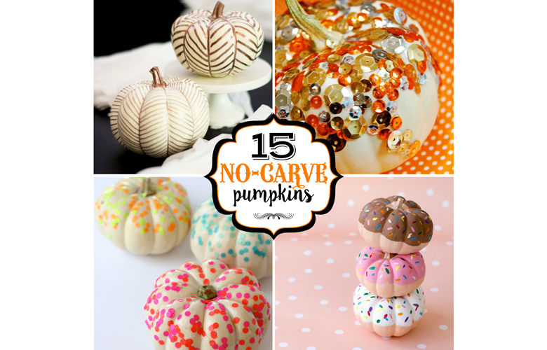 15 Best No-Carve Pumpkins