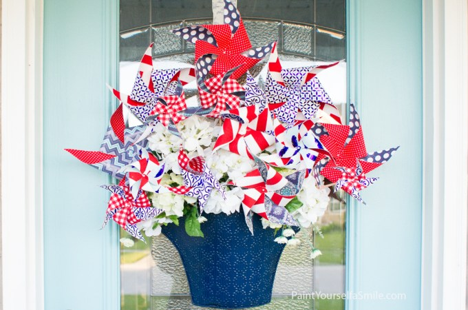 Pinwheel Bouquet Tutorial & Curb Appeal Challenge Week Two
