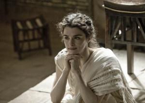 (La foto no es de Montse, sino de Rachel Weisz en el de Hipatia de Alejandría).