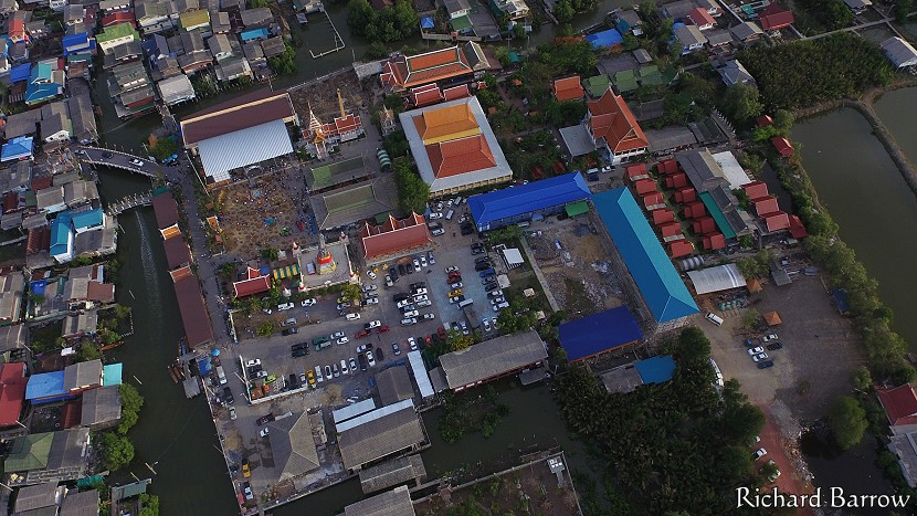 Drone photos of Wat Sakhla