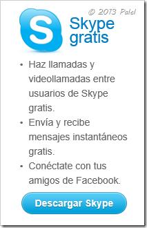 Descargar Skype de Escritorio
