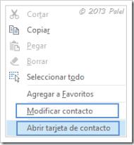 Contactos Outlook 2013 4