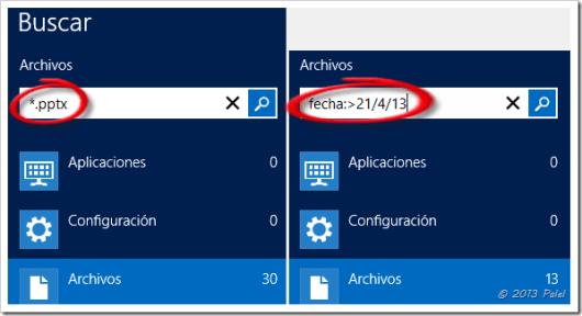 Búsqueda en Windows 8 2