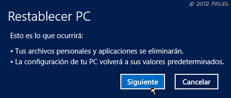 Restaurar o Reinstalar Windows 8 - 3