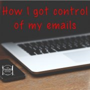 How I got control of my emails inbox organisation junk spam Paleo Network-min