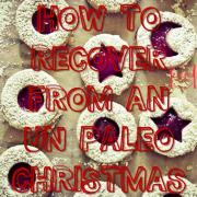 How To Recover From An Un Paleo Christmas diet unhealthy-min