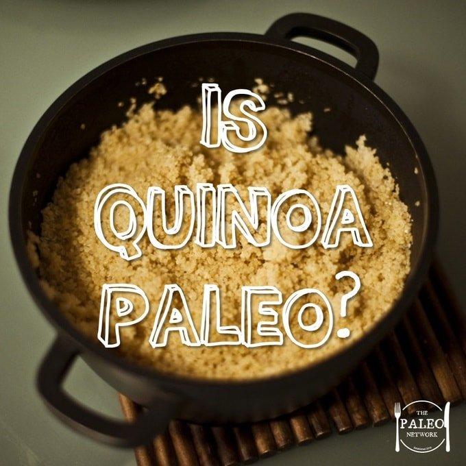 Is Quinoa Paleo network primal diet grain psuedo ancient-min