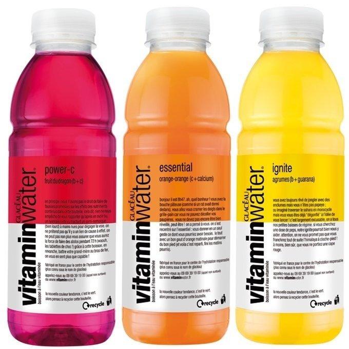 Vitamin water paleo healthy diet soft drinks supplements-min