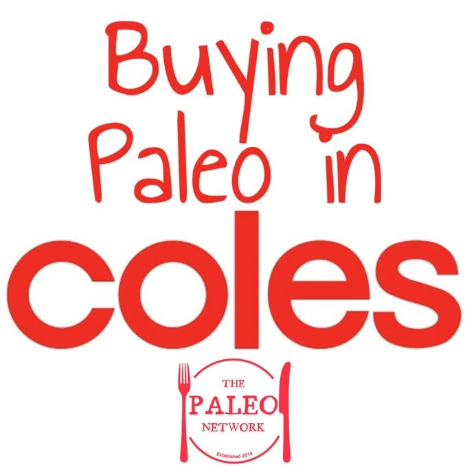 buying paleo in coles woolworths
