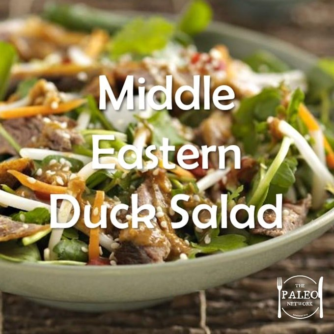 Paleo Diet Recipe Primal Middle Eastern Duck Salad-min