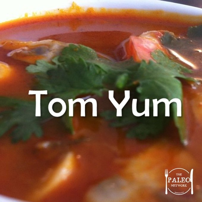 Paleo Diet Recipe Primal Tom Yum-min