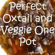 Paleo recipe Perfect Oxtail Veggie One Pot-min