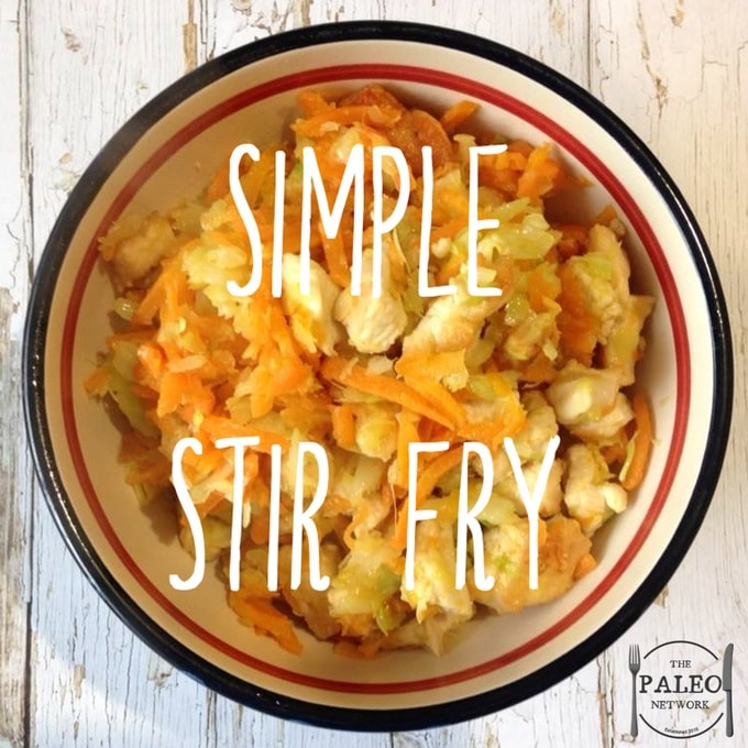 Recipe simple paleo stir fry-min
