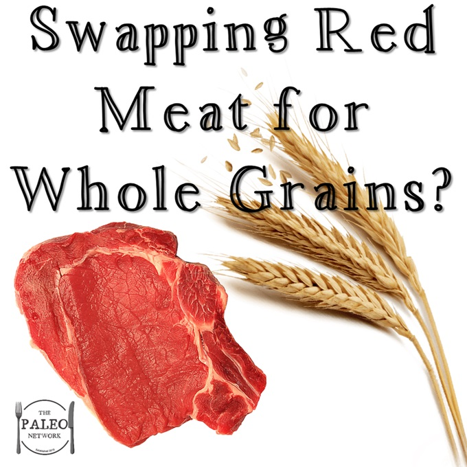 Swapping Red Meat for Whole Grains newspaper health article healthy paleo diet