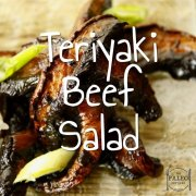 Teriyaki Beef Salad recipe dinner lunch Asian grass-fed-min