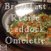 paleo Breakfast Recipe Haddock Omelette primal eggs idea-min