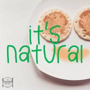 Paleo diet but it's natural nature food products label labelling